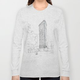 Flat Iron Building Long Sleeve T-shirt