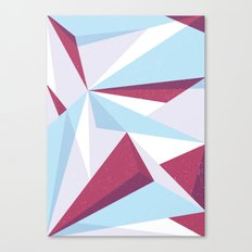 Maroon & sky  Canvas Print