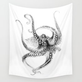 Giant Octopus Wall Tapestry