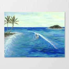 Old Hawaii 1 of 3 Canvas Print