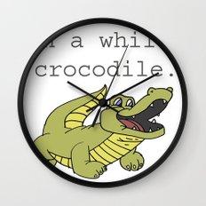 In A While Crocodile, Dark Wall Clock