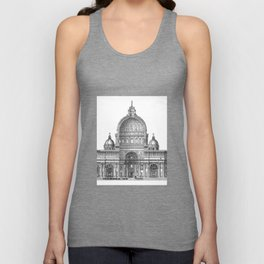 St. Peter Basilica - Rome, Italy Unisex Tank Top