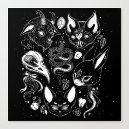 FAMILIAR SPIRITS Canvas Print