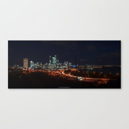 Pulse of a City Canvas Print