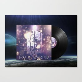 Rose Vinyl Lp | Doctor Who Inspiration Canvas Print