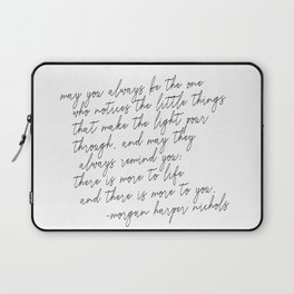 May you always Laptop Sleeve