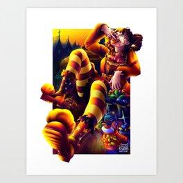 Invigorate Art Print