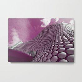 Pink Selfridges Metal Print