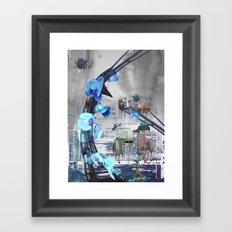 Urban growth Framed Art Print