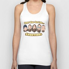 Nerds who Get laid Unisex Tank Top