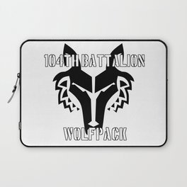 104th Battalion Wolfpack Laptop Sleeve