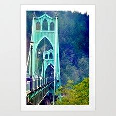 ST. JOHN'S BRIDGE Art Print