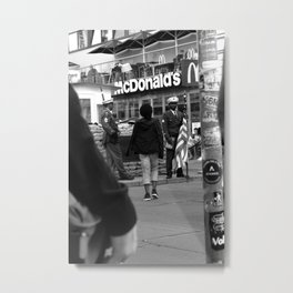 Mac Guarded Metal Print