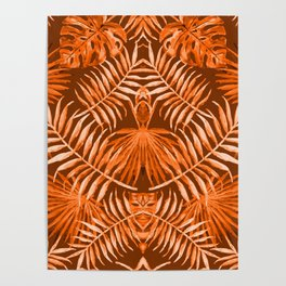 HULA GIRL and The Masked Dancer #tropical #society6 Poster