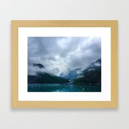 Kenai Fjords Framed Art Print