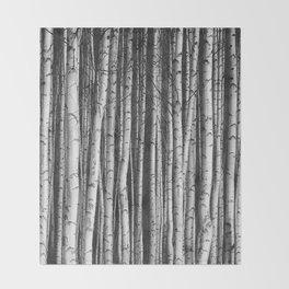 Birch || Throw Blanket