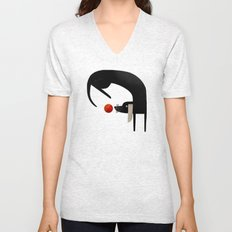 EYE ON THE BALL Unisex V-Neck