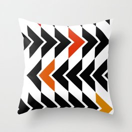 Arrows Graphic Art Design Throw Pillow
