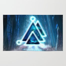 Delta Illumination Rug