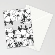 Grey Spring Stationery Cards