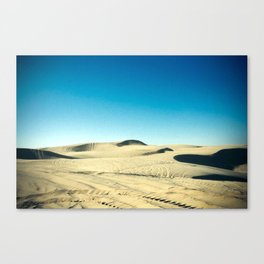 shifting sand Canvas Print