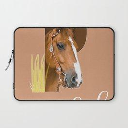 Paard - dierenalfabet Laptop Sleeve