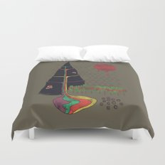 Holy Mountain Duvet Cover