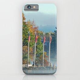 Morning Glory in the Adirondacks iPhone Case