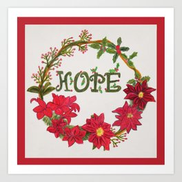 Hope for the Holidays Art Print