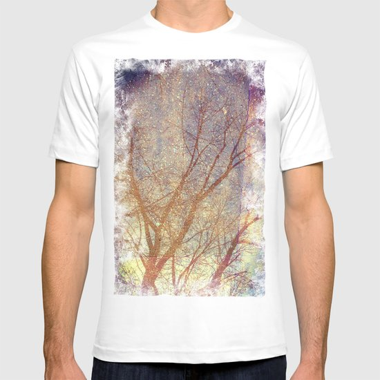 Galaxy + Nature Reflection T-shirt