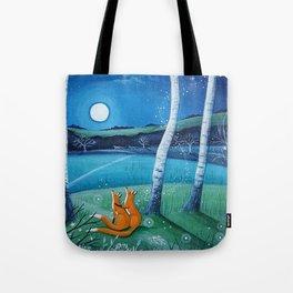 Moon gazers Tote Bag