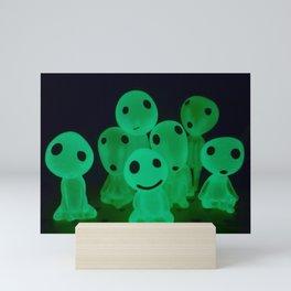 Kodamas Mini Art Print