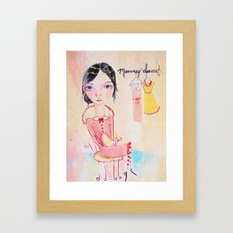 Mommy Dearest Framed Art Print