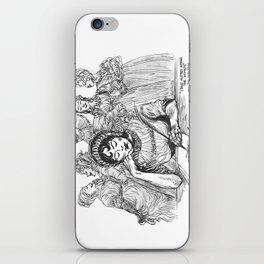 """Jane Austen Among the Women"" iPhone Skin"
