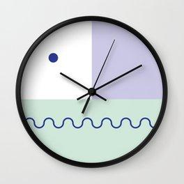 Be Worried Wall Clock