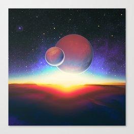 Moons of Nexalion Canvas Print
