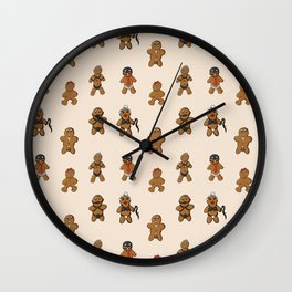 BDSM Gingerbread Wall Clock