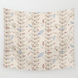 Alpine Adventure - Nature Pattern 1 Wall Tapestry