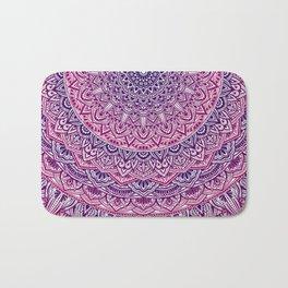 Zen Pink and Purple Mandala Bath Mat