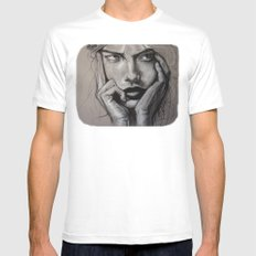 The Glutton (VIDEO in description!!) White Mens Fitted Tee SMALL