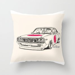 Crazy Car Art 0166 Throw Pillow