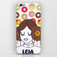 Princess Donut Leia iPhone & iPod Skin