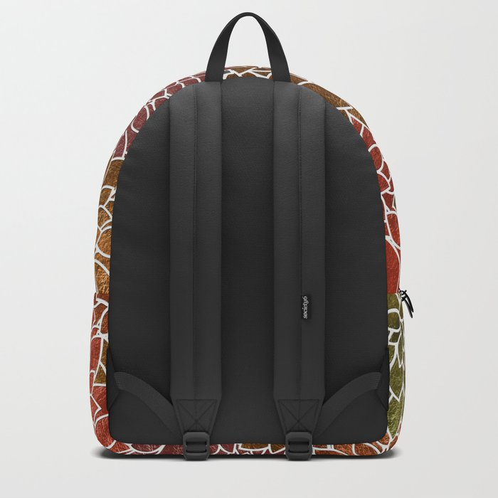 Floral Abstract 31 Backpack
