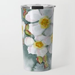 Watercolour Wildflower Travel Mug