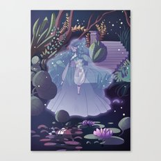 The ghost of the lake Canvas Print