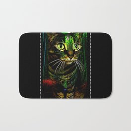 Cat Models 01- Chazzie Bath Mat