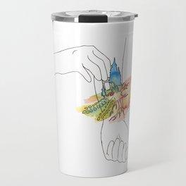 band aid Travel Mug