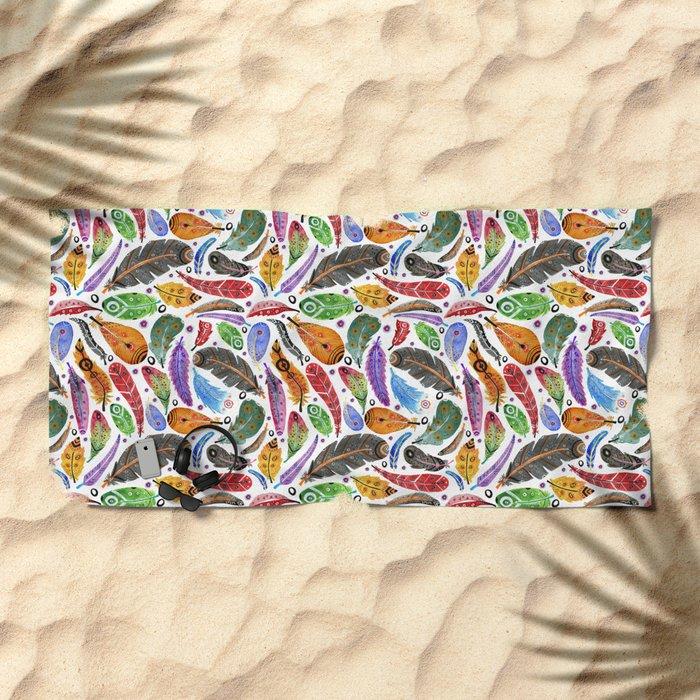 Boho Summer Beach Towel
