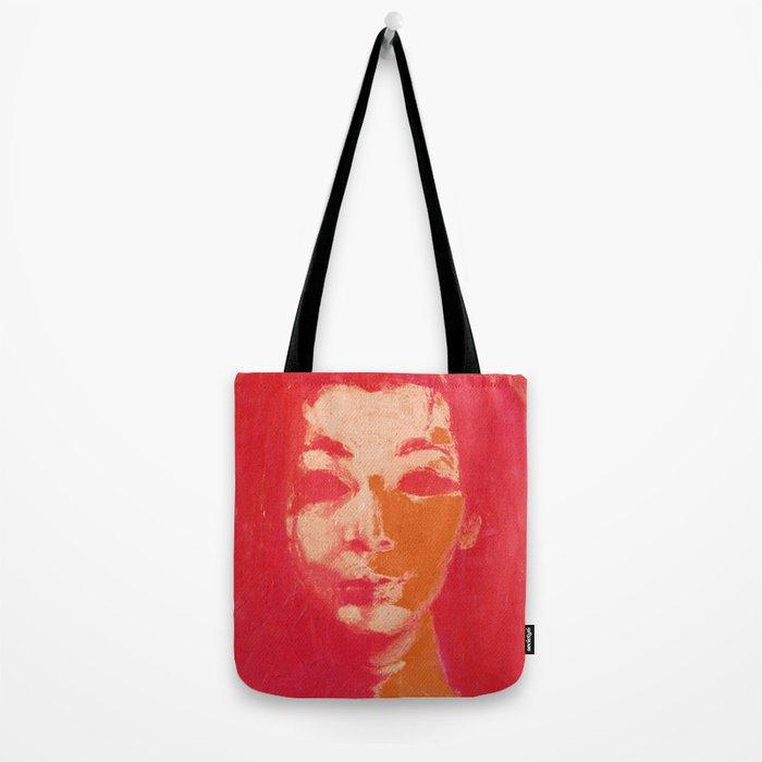 Colorful Woman 1 Tote Bag
