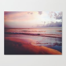 Red sky, Red Sea Canvas Print